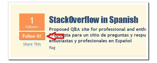 Propuesta StackOverflow en Español